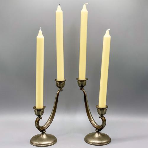 Revere Pewter Candlestick Holders (Set)
