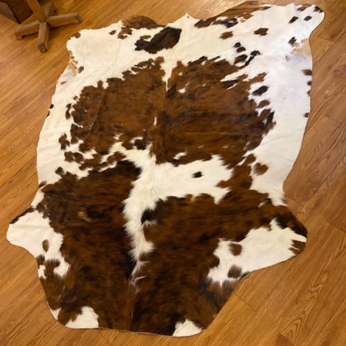 Columbian Light Tricolor Cow Hide