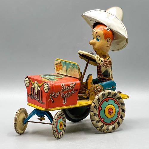 "Vintage ""Rodeo Joe"" Tin Toy"