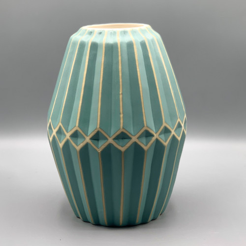 Asher Turquoise Medium Vase