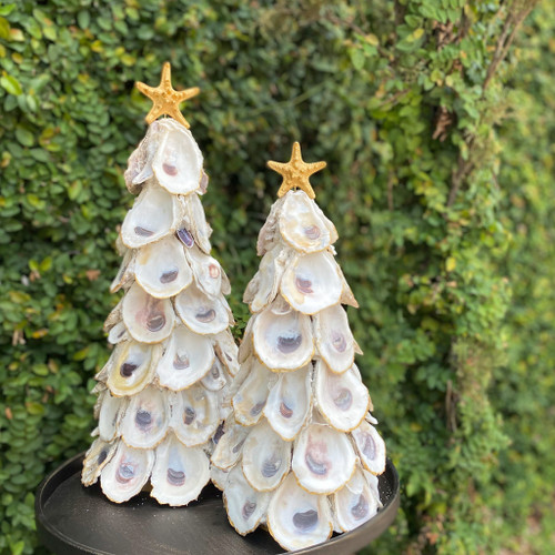 Handmade Oyster Tree with Removable Starfish