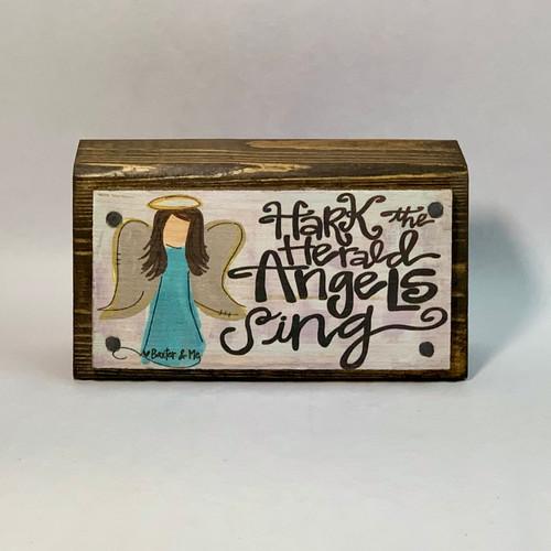Hark The Herald Angels Sing Happy Block