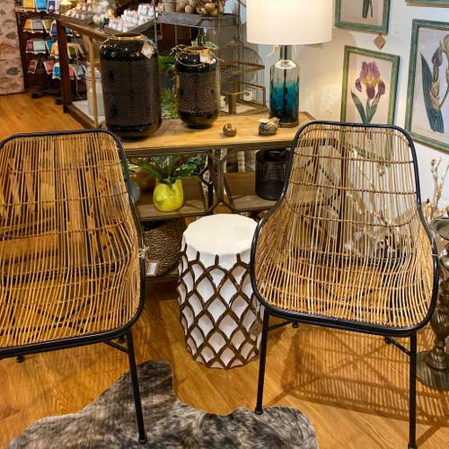 Woven Wicker Chair