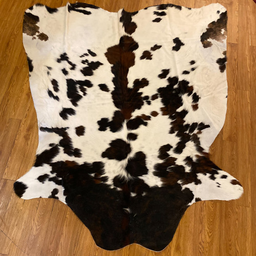 Columbian White Tricolor Cow Hide