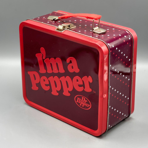 Dr. Pepper Tin Lunchbox