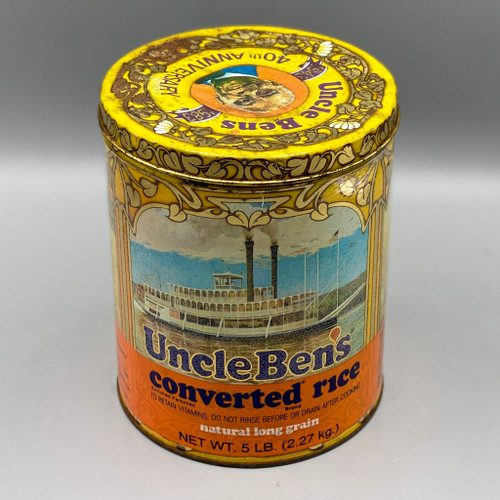 1980 Uncle Ben's 40th Anniversary Tin