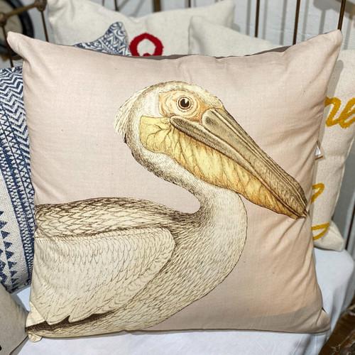 Pelican & Corduroy Cotton Pillow