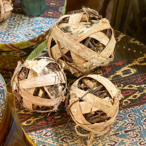 Birch / Twig Bark Ball