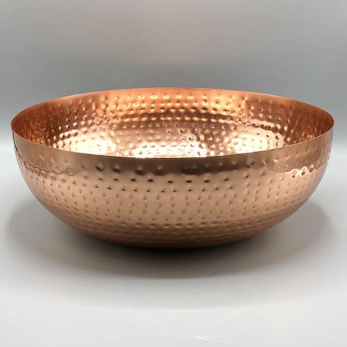 Metal Copper Finish Bowl