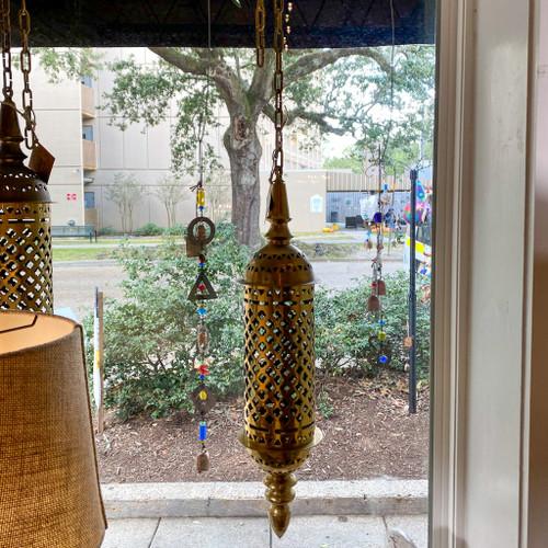 Vintage Brass Indian Lantern