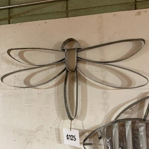 Barrel Art Dragonfly Wall Decor