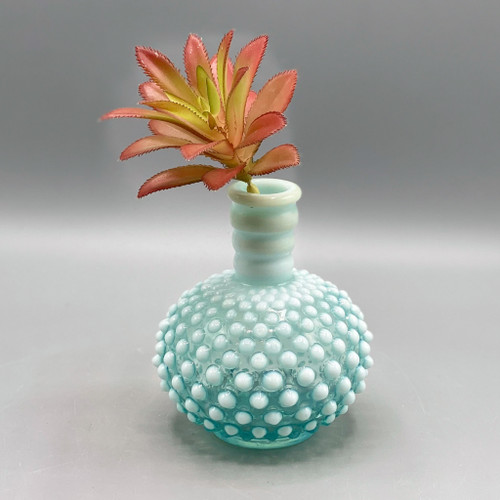 Vintage Fenton Hobnail Vase