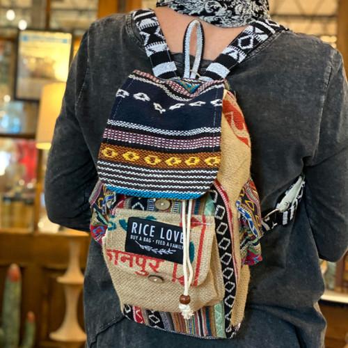 Mumbai Mini Recycled Backpack