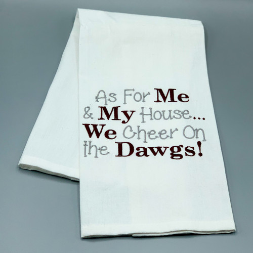 Dawgs Tea Towel
