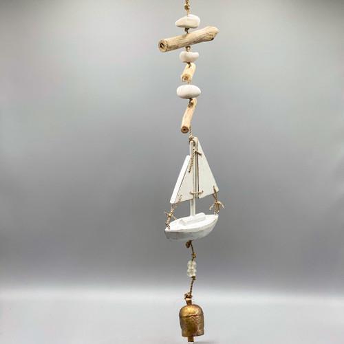 Nana Chimes - Driftwood Sailboat
