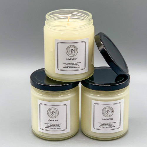 Hand-Poured Natural Soy Candle