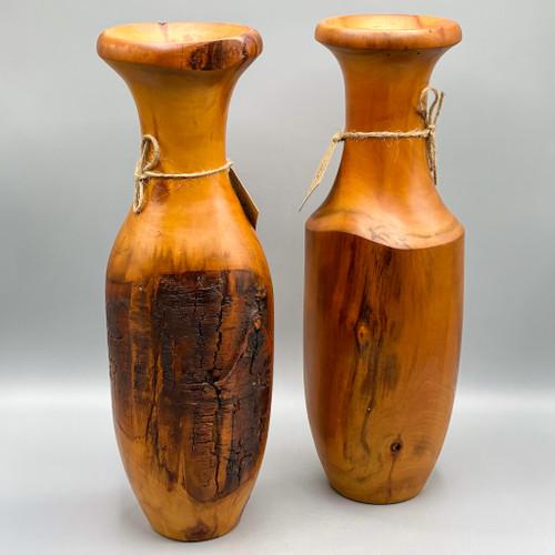 Aspen Wood Vase
