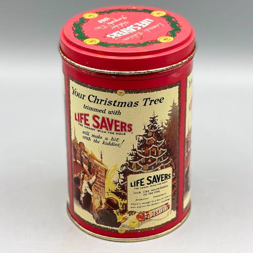 Vintage Life Savers Holiday Keepsake Tin, 1988