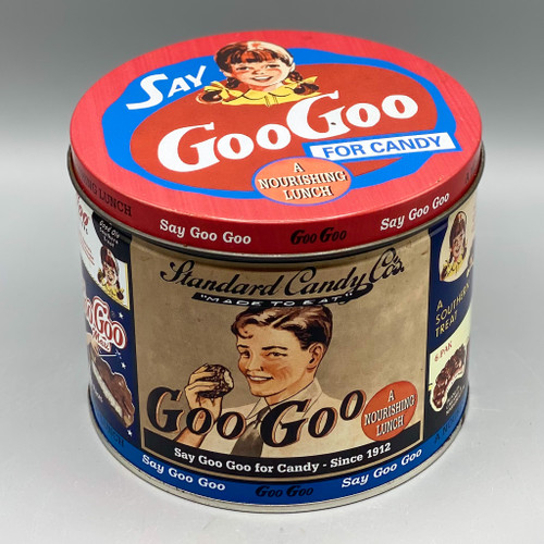 Vintage Goo Goo Candy Tin