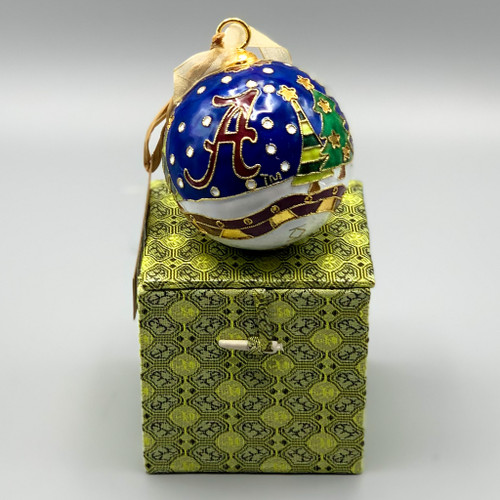 Alabama Christmas Cloisonne Ornament