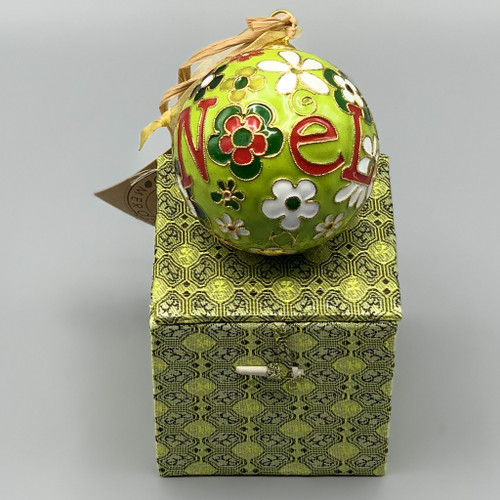 Noel Cloisonne Ornament