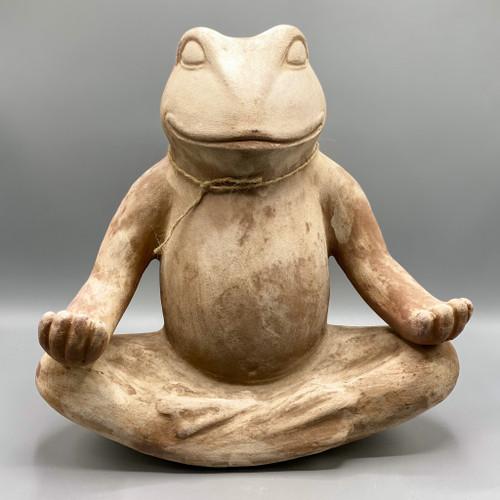 Concrete Zen Frog
