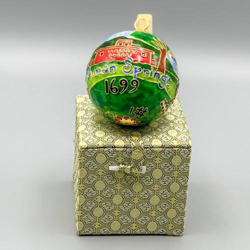 Cloisonne OS #1 Ornament