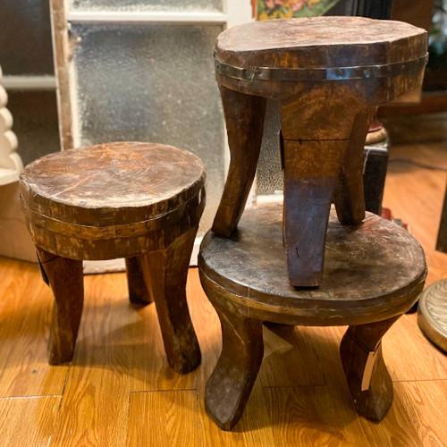 Handmade Found Wood Stool