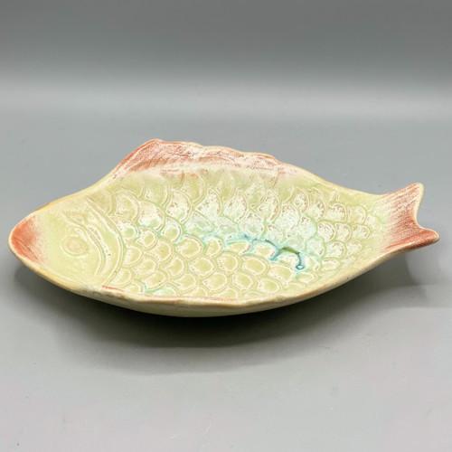 Stoneware Fish Dish
