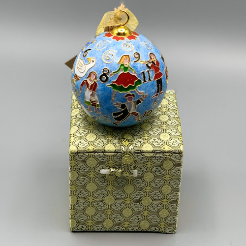 12 Days of Christmas Cloisonne Ornament