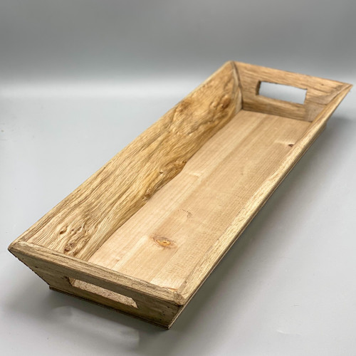 Decorative Wood Tray with Handles