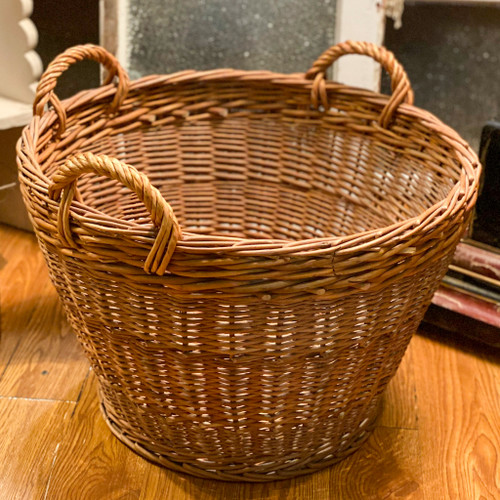 3 Handle Wicker Basket
