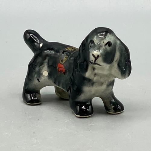 Ceramic Black Cocker Spaniel