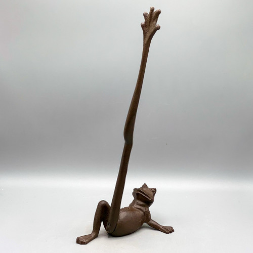 Cast Iron Long-Legged Frog