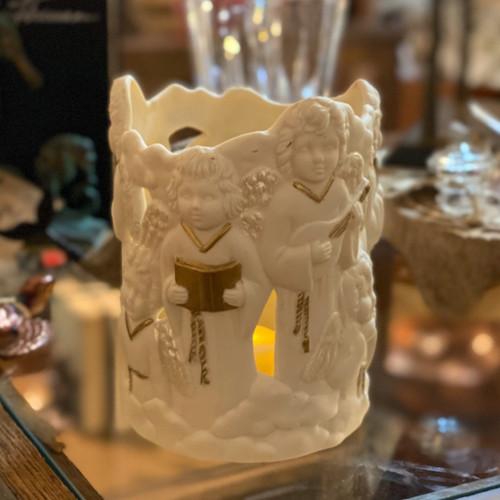 Porcelain Gilt Candle Holder
