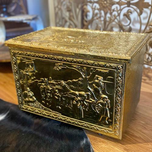 The Inn Antique Fireplace Box