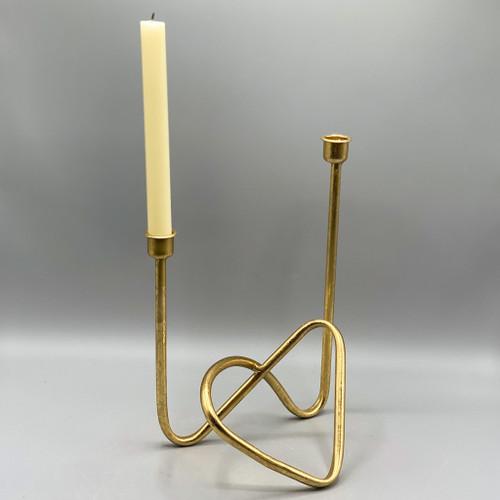 Metal Golden Candle Holder