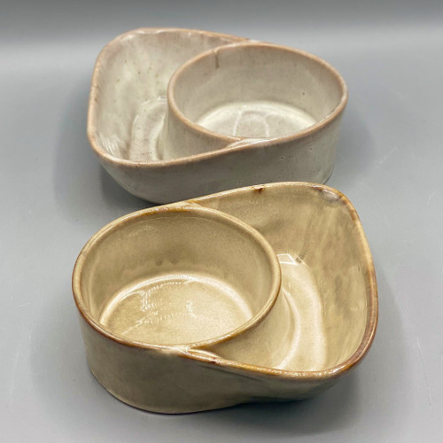 Stoneware Cracker & Soup Bowl