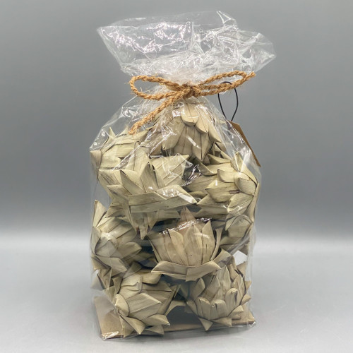 Dried Natural Palm Leaf Artichoke in Bag