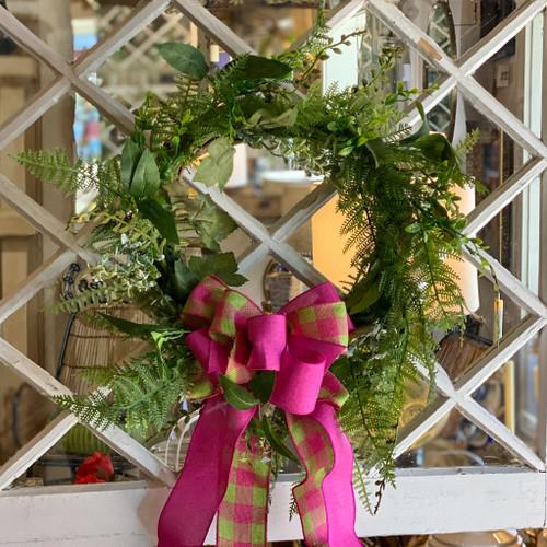 Forest Fern Wreath