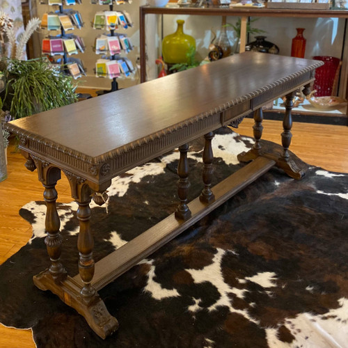 Antique Entryway/ Sofa Table