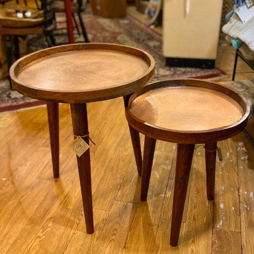 Wood Accent Side Table