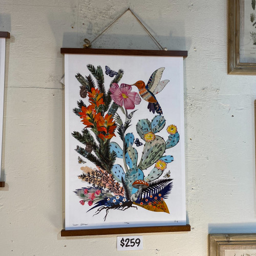 Dolan Geiman Hummingbird w/Cactus Print