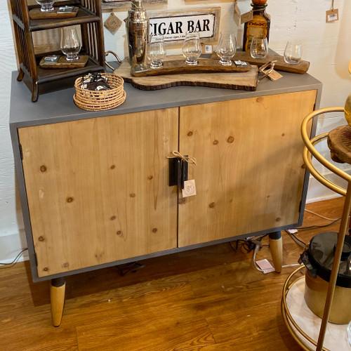 Wood Minimalist Cabinet
