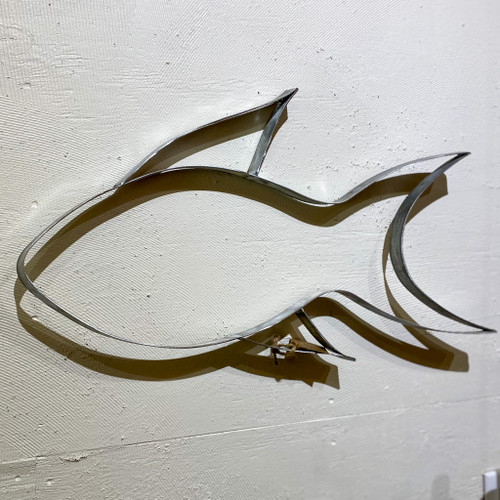 Tropical Fish Barrel Art Wall Decor
