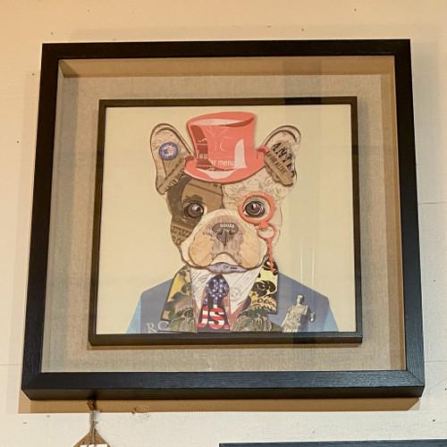 French Bulldog Dimensional Wall Art