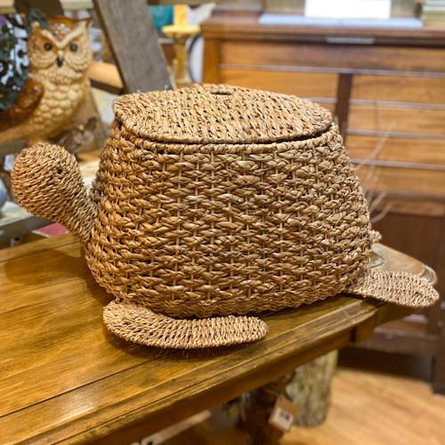 Hand Woven Bankuan Turtle Basket