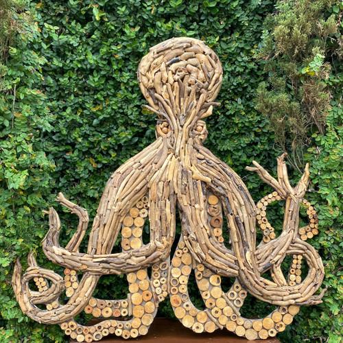 Driftwood Octopus Wall Art