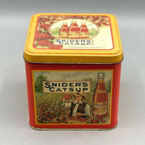 Snider's Catsup Tin