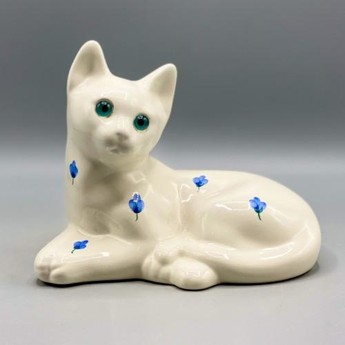 Vintage Porcelain Cat, Portugal